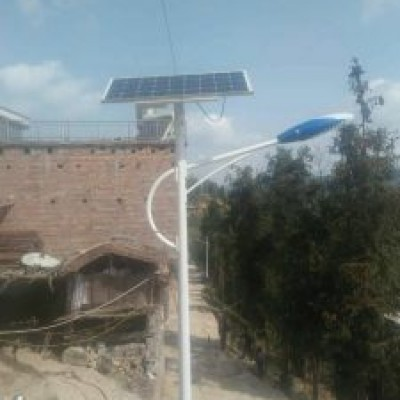 贵州兴义县太阳能路灯案例